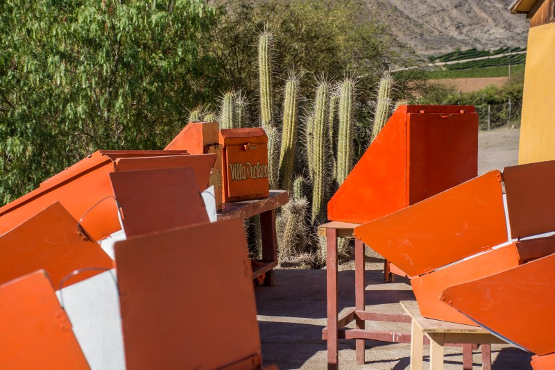 solar cooking villa seco elqui valley