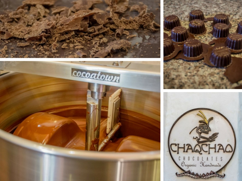 chaqchao chocolate factory collage