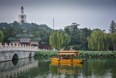 china beijing beihai park boat
