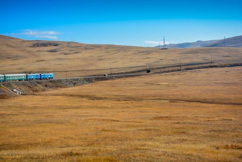 china beijing transmongolian train