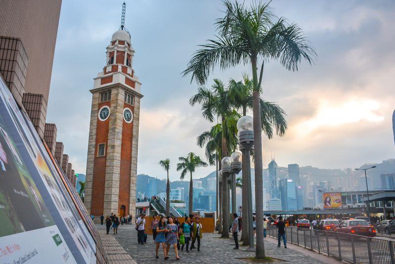 hong kong city guide clock tower