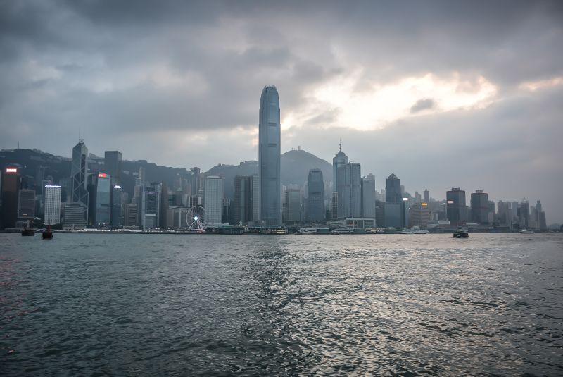 china hong kong skyline