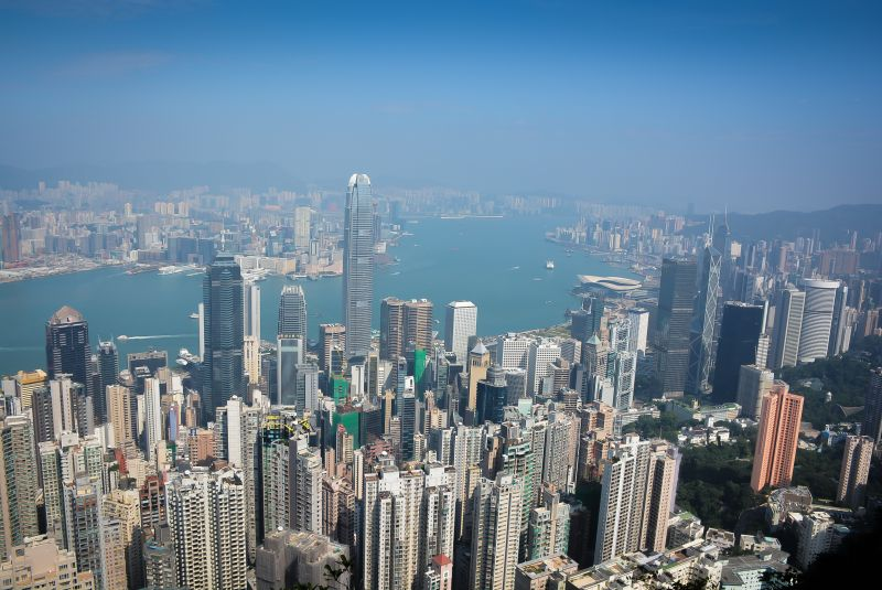 skyline from the peak hong kong city guide