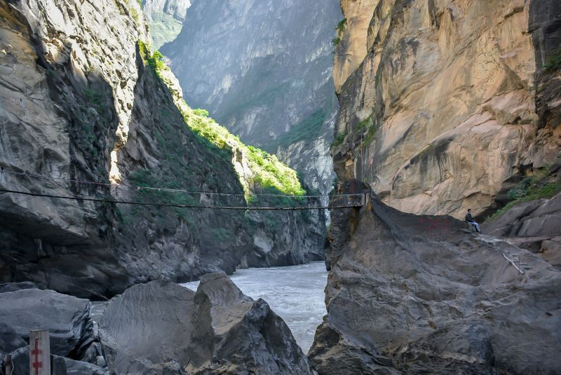 jinsha river tiger leaping gorge