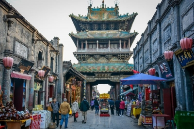 china pingyao tower street