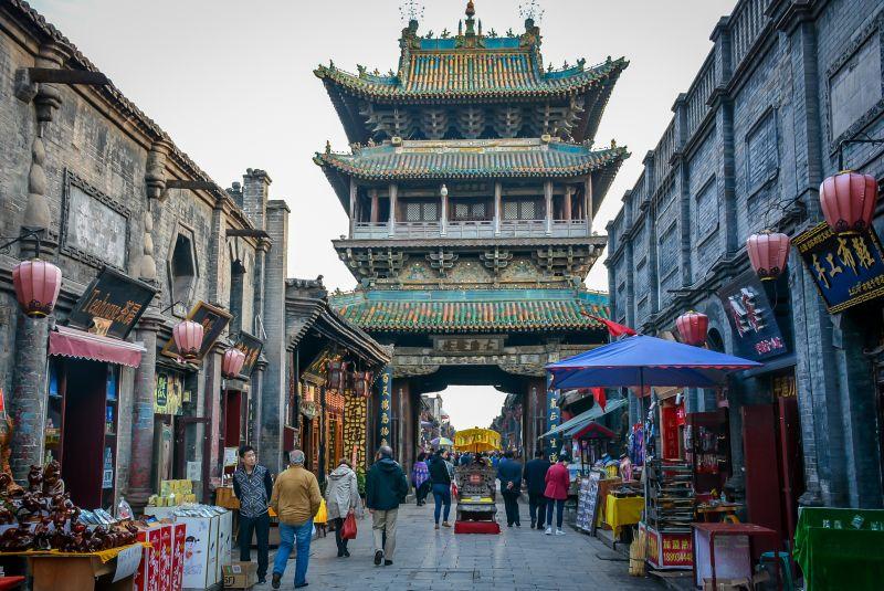 china pingyao tower street