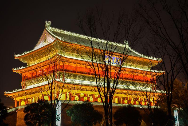 china xian drum tower