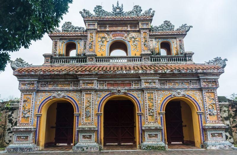 vietnam hue citadel gate