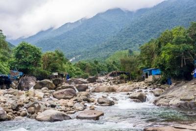 vietnam hue elephant waterfall