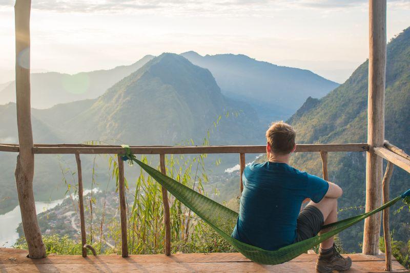 laos nong khiaw viewpoint