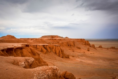 mongolia gobi desert flaming cliffs