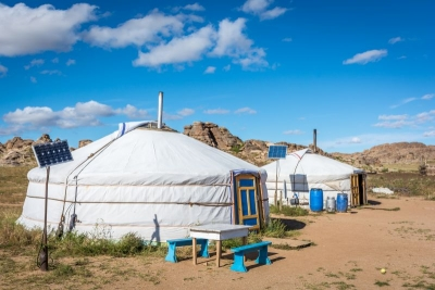 mongolia gobi yurt