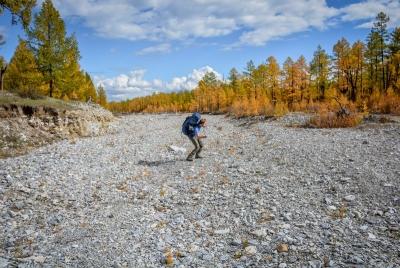 mongolia khovsgol lake dry river