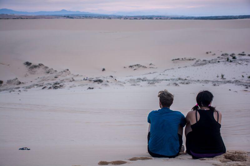 mui ne white sand dunes sunrise vietnam