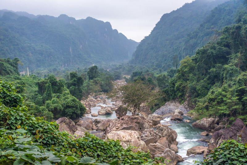 phong na national park river view