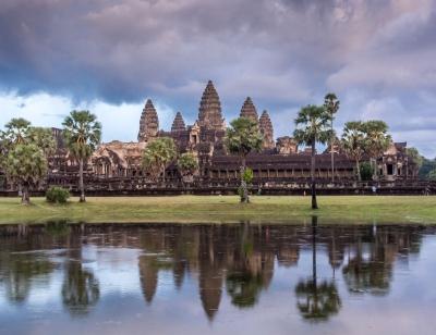 Angkor wat temples in Siem Reap