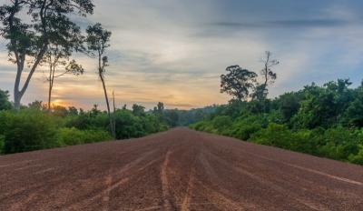 sihanoukville cambodia ream national park road