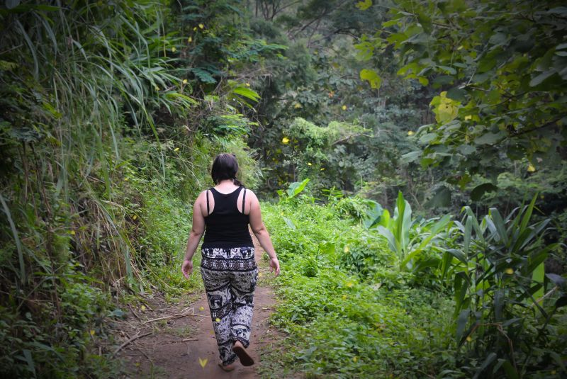 thailand chang mai jungle hike