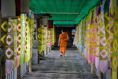 thailand chang mai monk