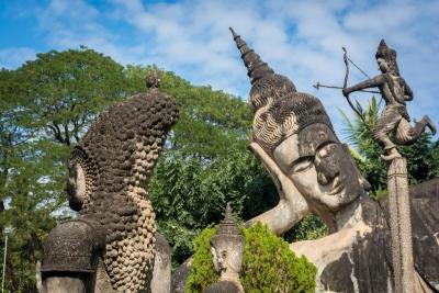 laos vientiaene buddha park