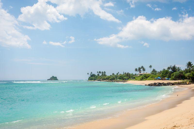 beach near mirissa sri lanka