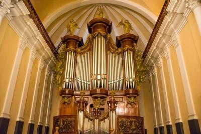 belgian organ la catedral arequipa peru