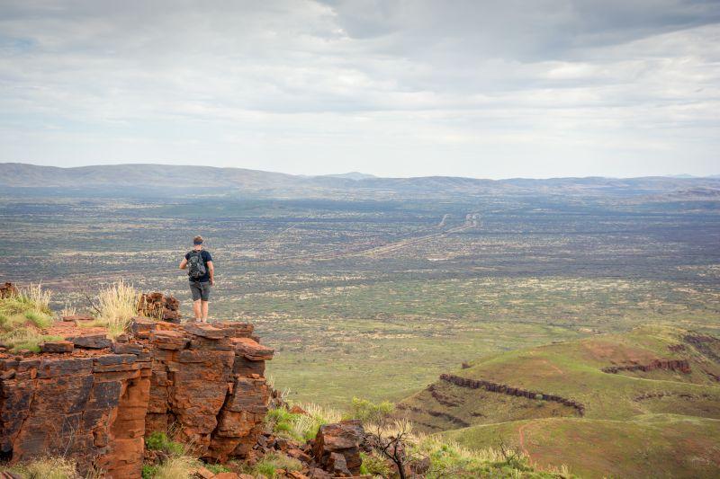 australia mount bruce viewpoint