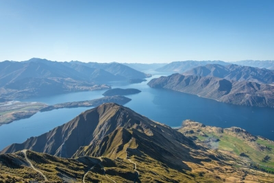 new zealand wanaka roys peak view