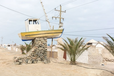 ship statue camana peru