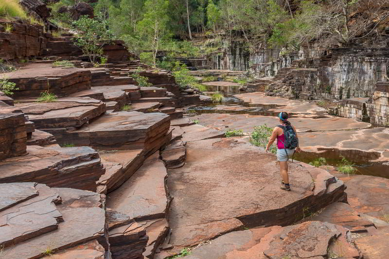western australia karijini national park dales gorge