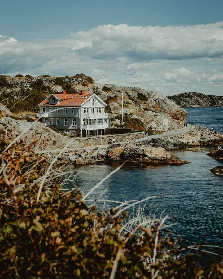 Sweden Gothenburg coastal view