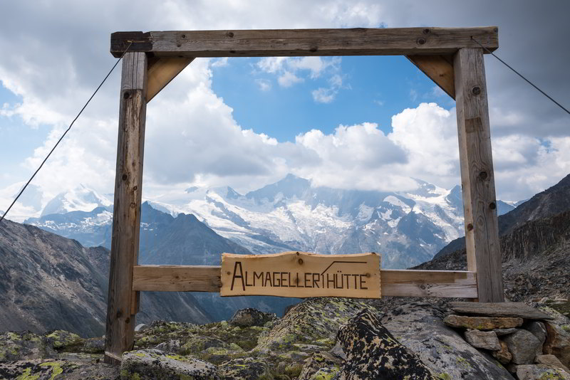 almageller hut saas grund switzerland