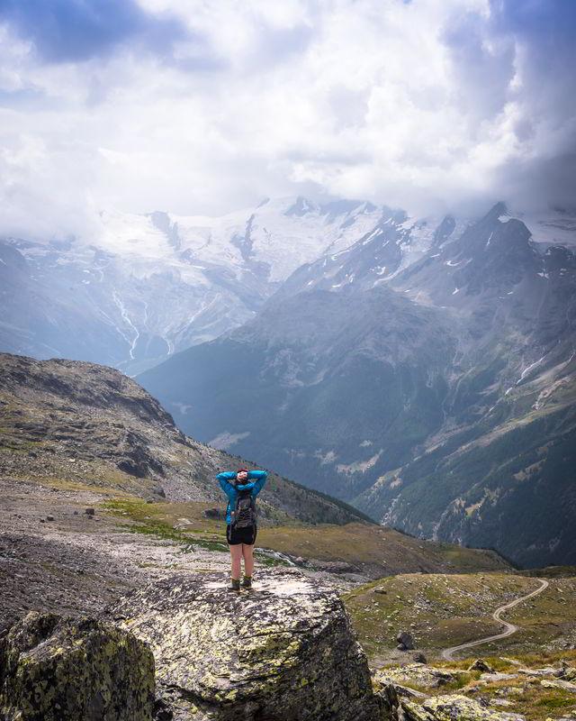 gletscherseewjini saas valley switzerland
